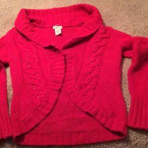 St. John's Bay Sweater Sequins & Glitter Size Sm